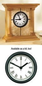 Architectural Clock Plan Printed Plan