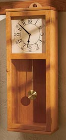 Simply Stated Shaker clock Woodworking Plan, Gifts & Decorations Clocks