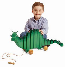 Swinging Toy Dragon Printed Plan
