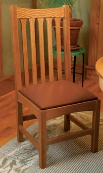 Dining Chair Downloadable Plan