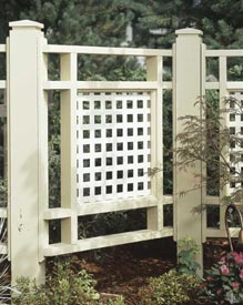 Good-neighbor fence Woodworking Plan, Outdoor Backyard Structures