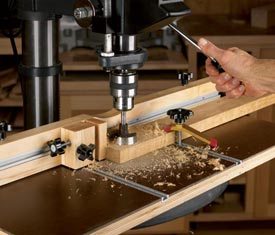 Feature-Packed Drill-Press Table Downloadable Plan