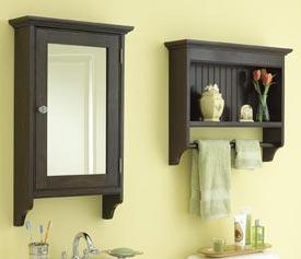 Matching bathroom cabinets Printed Plan