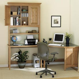 Sensational Sectional Desk System Downloadable Plan