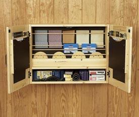 Get-It-All Together Sandpaper Cabinet Downloadable Plan