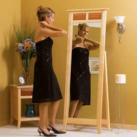 A mirror to admire Printed Plan