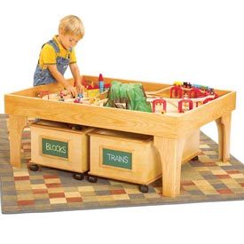 Keep-it-tidy play center Woodworking Plan, Toys & Kids Furniture