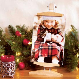 Photo-display Easel Woodworking Plan, Gifts & Decorations Picture Frames