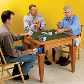 Game Table Printed Plan