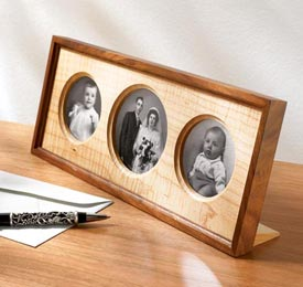 Triple-Treat Photo Frame Woodworking Plan, Gifts & Decorations Picture Frames