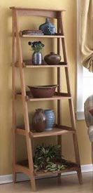 Shelves with a fresh slant Printed Plan