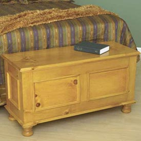 Cedar-Lined Blanket Chest Woodworking Plan, Furniture Chests