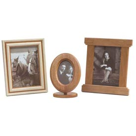 Low-tech, High-appeal Trio of Picture Frames Woodworking Plan, Gifts & Decorations Picture Frames