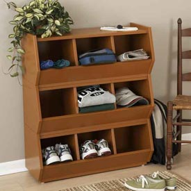 Stack 'n' Store Bins Woodworking Plan, Furniture Cabinets & Storage