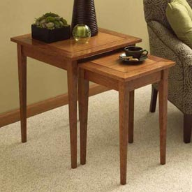 Perfect-Pair of Nesting Tables Downloadable Plan