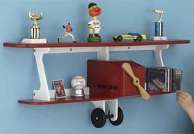 Plane-fun Kid's Shelf Downloadable Plan