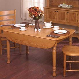 Drop-Leaf Table Woodworking Plan, Furniture Tables