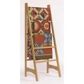 Quilt Ladder Woodworking Plan, Furniture Quilt Displays