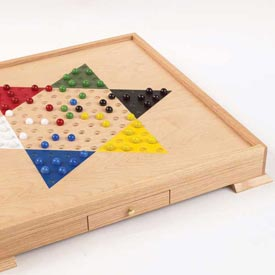 Chinese Checker Board, A Classic Family Game Woodworking Plan, Toys & Kids Furniture