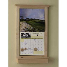 Calendar Keeper Frame Woodworking Plan, Gifts & Decorations Office Accessories
