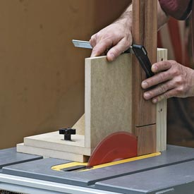 Tablesaw Joinery Jig Downloadable Plan