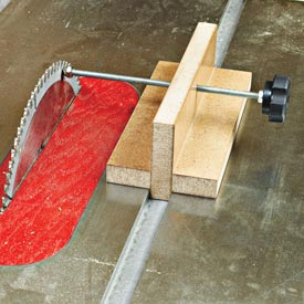 Tablesaw Alignment Block Downloadable Plan