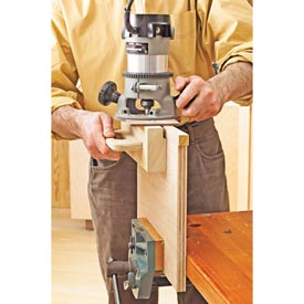 Edging-Flush Trimming Jig Downloadable Plan