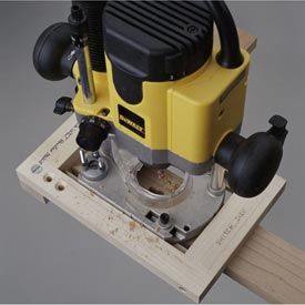Keyhole Routing Jig Downloadable Plan