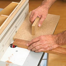Router-Table Backer Block Downloadable Plan