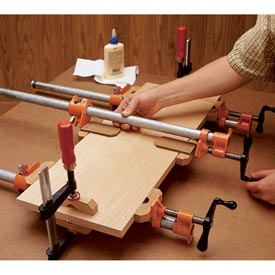Pipe-And-Bar-Clamp Blocks Downloadable Plan