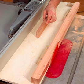 Tablesaw Tapering Jig Downloadable Plan
