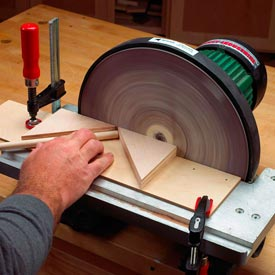 Dowel Chamfering Jig Downloadable Plan