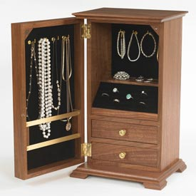A Gem of a Jewelry Chest Printed Plan