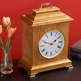 Mantel Clock Woodworking Plan, Gifts & Decorations Clocks