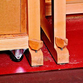 Shop-Built Adjustable Levelers Downloadable Plan