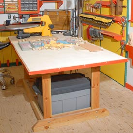 Back-to-Basics Work Table