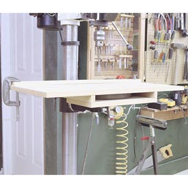 Bolt-On Drill-Press Table Downloadable Plan