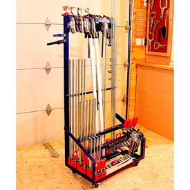 Angle-Iron Clamp Rack Downloadable Plan