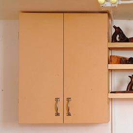 Basic Wall Cabinet Downloadable Plan