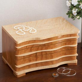 Jewelry Box Printed Plan