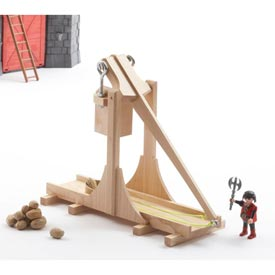 Loads of Fun Trebuchet Woodworking Plan, Toys & Kids Furniture