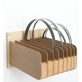 Bandsaw Blade Organizer Downloadable Plan