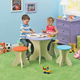 Table and Stools Downloadable Plan