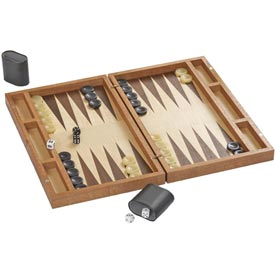 Boxed-Up backgammon Board