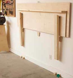 Fold-Flat Workbench Woodworking Plan, Workshop & Jigs Workbenches Workshop & Jigs $2 Shop Plans