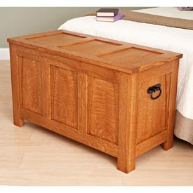 A Beauty of a Blanket Chest Printed Plan
