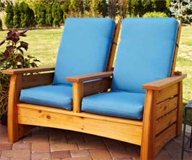 Outdoor Settee Downloadable Plan