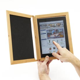 iPad Holder Woodworking Plan, Gifts & Decorations Office Accessories