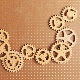 Scrollsawn Gears Downloadable Plan