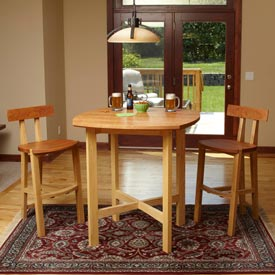 Pub Table and Chairs Downloadable Plan
